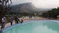 Foto: Pemandian air panas di Garut (Hakim Ghani/detikTravel)