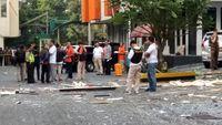 Puslabfor dan Tim Inafis olah TKP di lokasi ledakan
