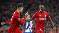 Firmino dan Keita Jadi Pahlawan Liverpool Hadapi Porto
