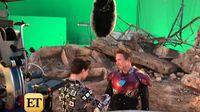 Intip Reuni Iron Man dan Spider-Man di Balik Layar 'Avengers: Endgame'