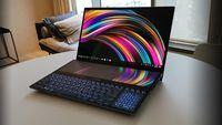 Laptop Asus Ini Punya Dua Layar 4K