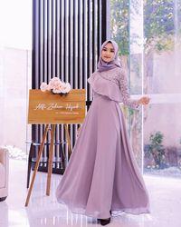 Model Baju Kondangan Terbaru 2020 : model, kondangan, terbaru, Model, Pesta, Untuk, Muslimah