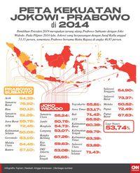 Peta Kekuatan Politik Nasional : kekuatan, politik, nasional, INFOGRAFIS:, Kekuatan, Jokowi, Prabowo, Pemilu