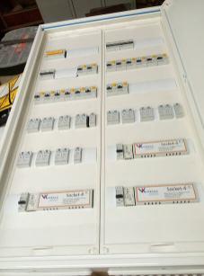 Шкаф управления освещением офиса