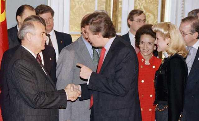 Дональд Трамп. Колумб, Лебедь и Горбачев: 7 фактов о связи Трампа с Россией, которые вы упустили • Skelet.Info