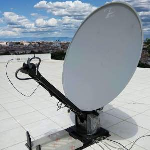 1.8M MOTORISED C BAND ANTENNA SYSTEM