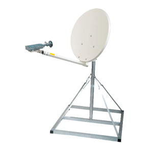 LOW COST EUTELSAT APPROVED MANUAL KA BAND QUICK DEPLOY FLYAWAY SYSTEM
