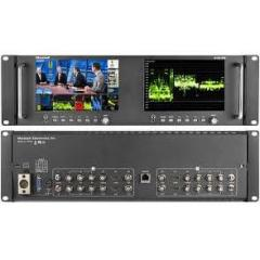 MARSHALL M-LYNX-702W HD DUAL RACKMOUNT MONITOR WITH WFM/VECT