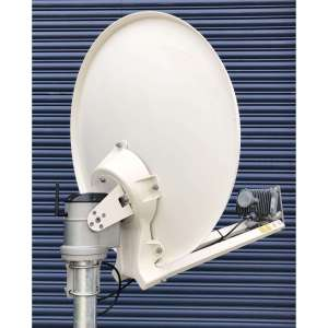 """U-DO"" AUTO ACQUIRE KA BAND SYSTEM (MOTOR HEAD, 75CM ANTENNA, SB2+ MODEM, ETRIA AND WIFI)"