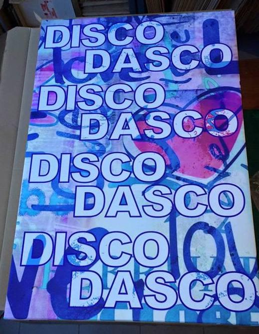 AK Design disco dasco canvasdoeken