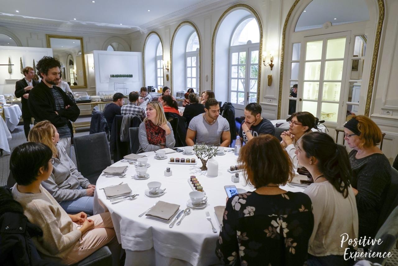 Repas de charme Positive Expérience à l'hotel d'Europe à Avignon