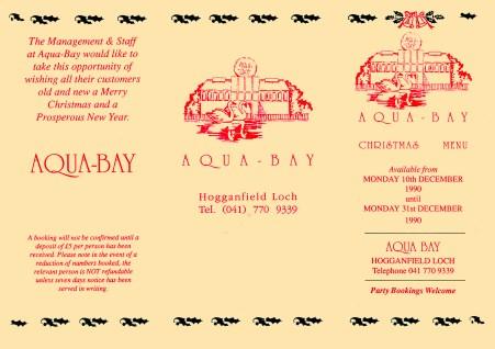 Aqua Bay Leaflet