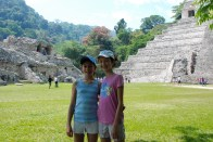 Palenque, Mayan pyramids in southeast Mexico