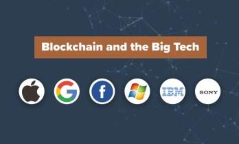 Tech giants and blockchain
