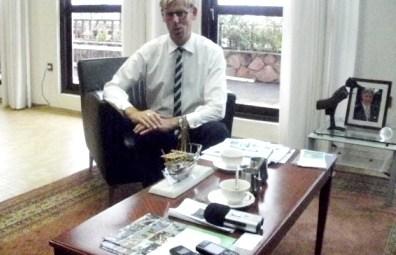 Monsieur Yoseph SMETS, Ambassadeur du Royaume de Belgique au Burundi @Photo Béni NKOMERWA 2011