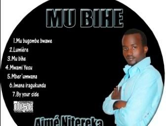 Une facette du cd original de l'album ''MU BIHE'' (www.akeza.net)
