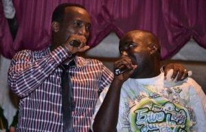 Dudu et Big(GMP) lors du concert du 24/12/2011 (www.akeza.net)