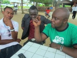 De gquche 0 droite : Rally Joe , SAT B , Kidum (www.akeza.net )