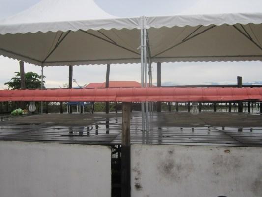 Dans la tente aux artistes, personne ! (www.akeza.net)