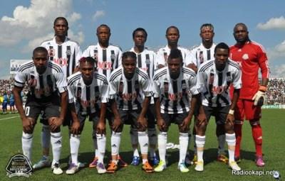 L'équipe type du TP Mazembe en 2012 (www.akeza.net)