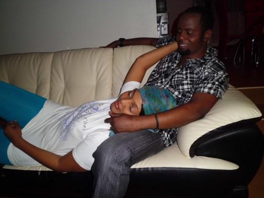 Steven Kanumba et Jackeline Walper dans Ndo Yangu, son tout dernier film qui devait sortir dans les salles le 14 Avril 2012.