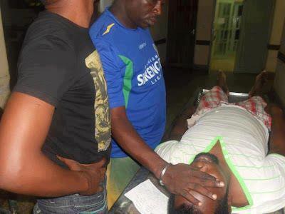 Le corps de Steven Kanumba