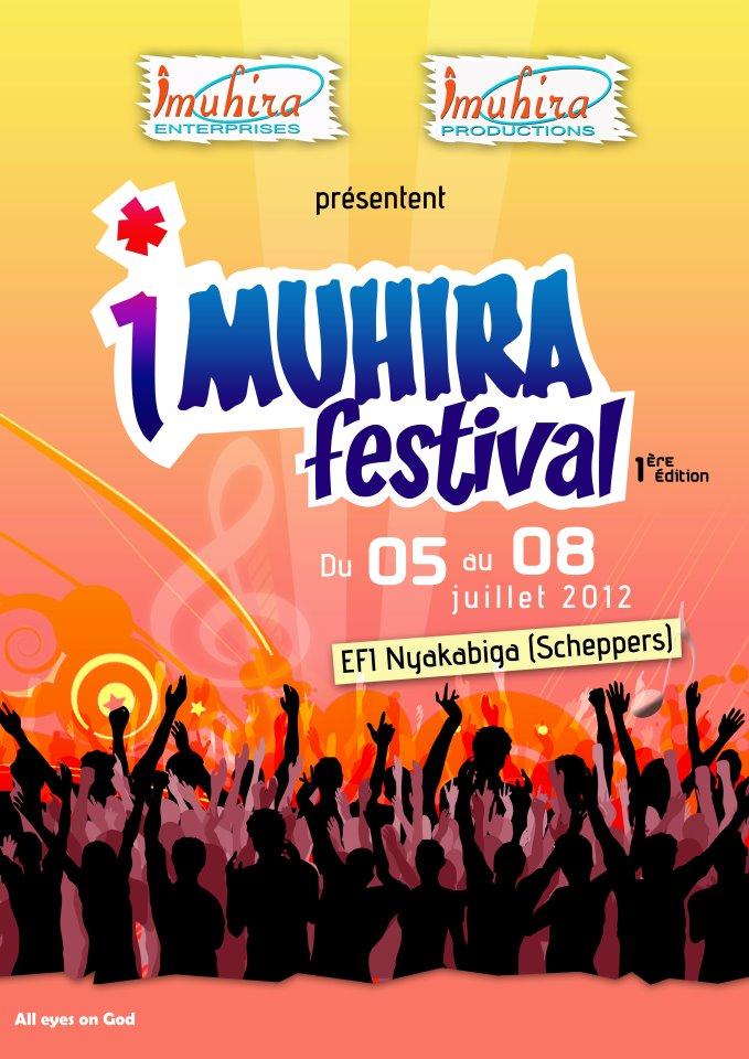 Affiche officiel de l'IMUHIRA FESTIVAL (www.akeza.net)