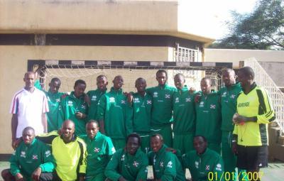 Equipe nationale de handball (www.akeza.net)