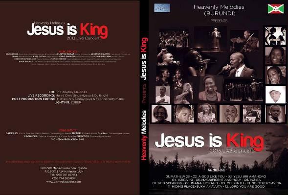 Fabrice Nzeyimana parle du DVD JESUS Is KING de Heavenly Melodies (www.akeza.net)