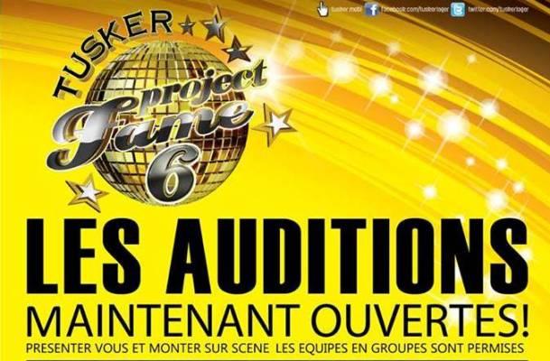 Les auditions pour Tusker Project Fame6 ce weekend à l'Hotel Source du Nil (www.akeza.net)