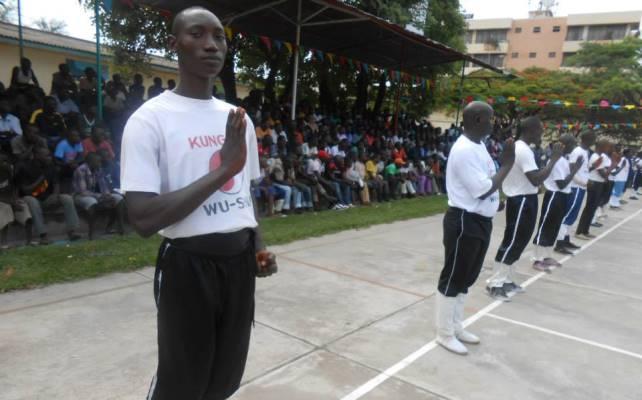Lancement officiel du Kung Fu à Bujumbura (www.akeza.net)