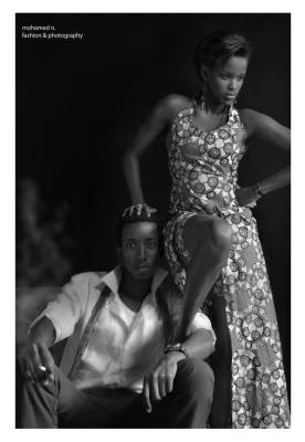 Célèbre photo connu sous le nom ''El Jefe''/Models : Davy C & Darlène D/Agence Esther (www.akeza.net)