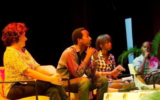 Les organisateurs du festival « Buja sans tabou » (www.akeza.net)