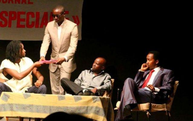 Les acteurs sur scène lors du festival(www.akeza.net)