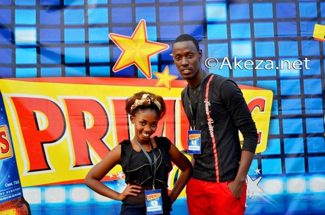 Lydia et Levy, les candidats de Mwaro.(www.akeza.net)