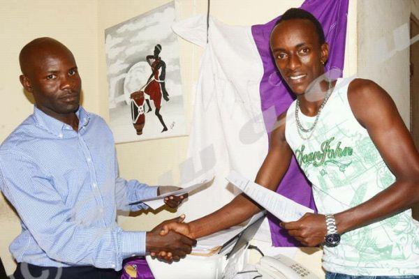 McArthurArakaza : la star du football se confie sur son transfert(www.akeza.net) Photo © Iwacu