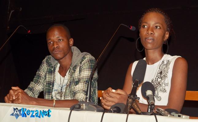 Hussein Butoyi et Lynda Kana , beneficiaires de la formarion (www.akeza.net)