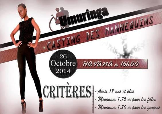 L'Agence Umuringa à la recherche de nouveaux mannequins (www.akeza.net)