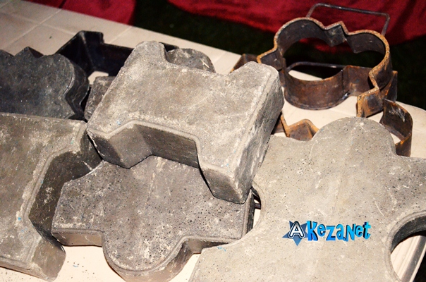 Les pavés après la transformation.(www.akeza.net)