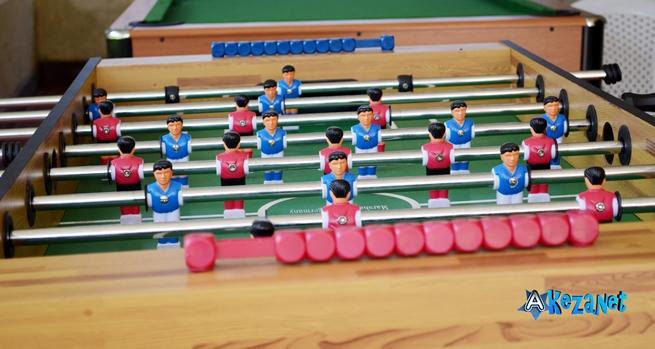 Un espace de jeu et loisir pour les jeunes du RNJ+ ©Akeza.net