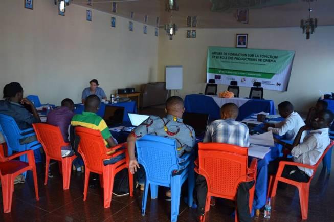 Les participants en formation.(www.akeza.net)