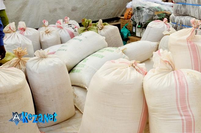 Les vivres distribués par Smart.©Akeza.net