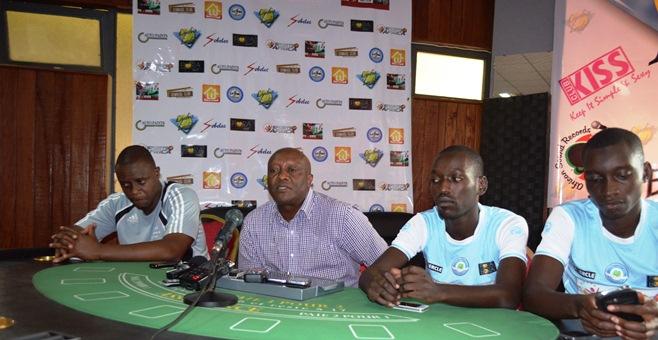 De gauche à droite , Etienne Ndayiragije, David Ndikuriyo, Gael et Yussuf Ndikumana dit Lule.©Akeza.net