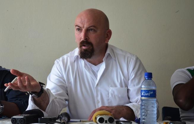 Ahcene Aït-abdelmalek, nouveau sélectionneur du Burundi.©Akeza.net