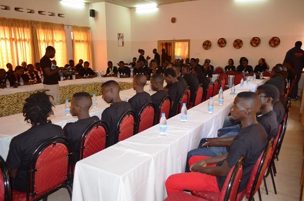 Vue partielle des participants à l'atelier ©Akeza.net