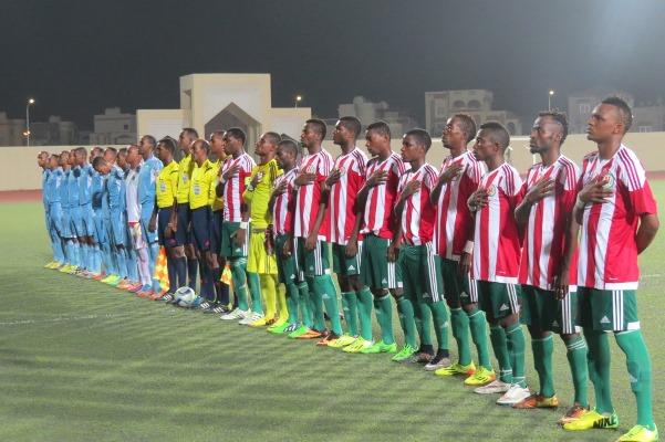Photo du match aller Burundi-Djibouti ©Droits reservés