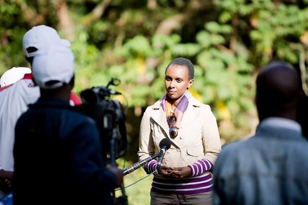 Carmen NIBIGIRA , à la tete de la plateforme du tourisme EAC © Droits reservés