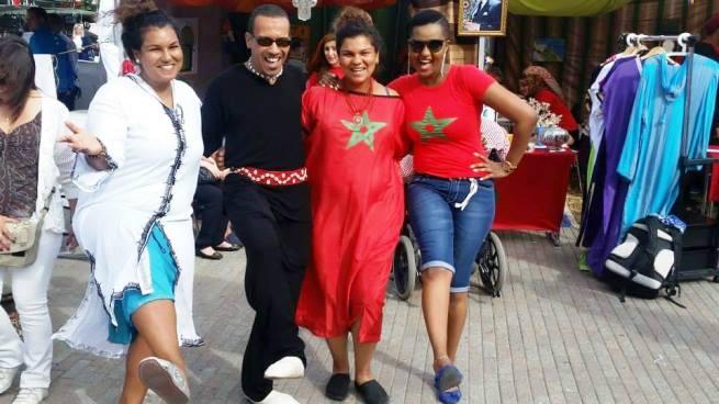Cynthia ITEKA et d'autres participants au Morocco Inspiration © Privé