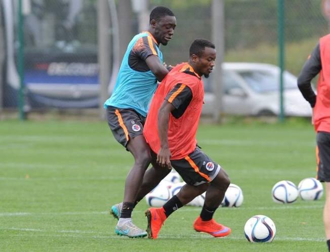 Saido Ntibazonkiza en séance d'entrainement. ©DR