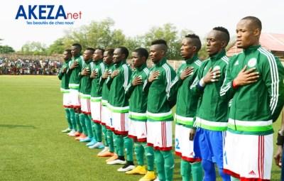 Equipe nationale du Burundi. Photos:©Akeza.net/ Armand NISABWE